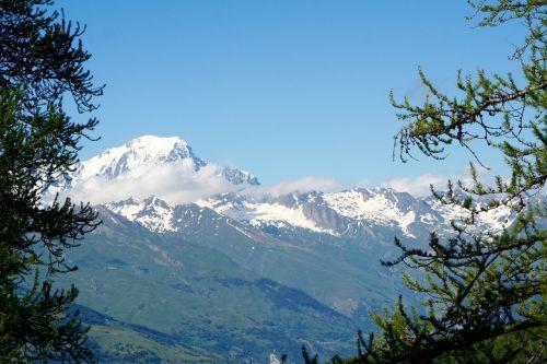 mont blanc savoie mountains