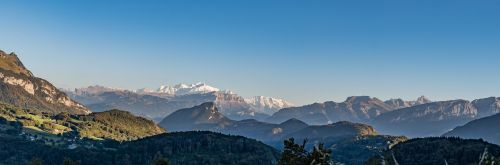 mont blanc panorama haute savoie