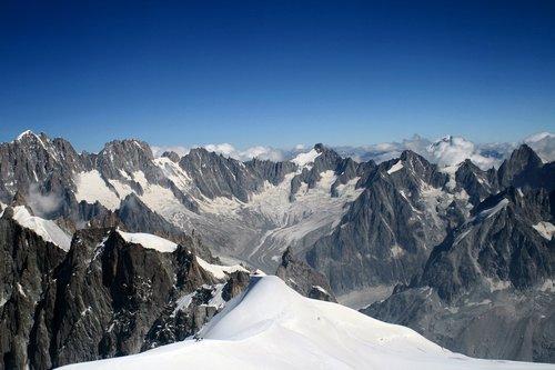 mont blanc  snow  alps