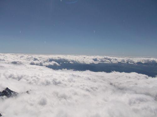 mont blanc mountain snow