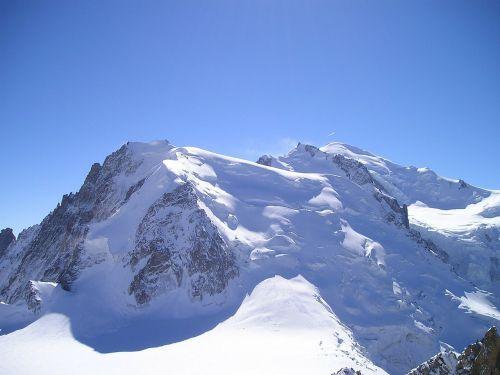 mont blanc mont blanc du tacul chamonix