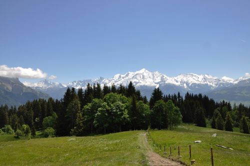 mont blanc massif mont blanc haute-savoie