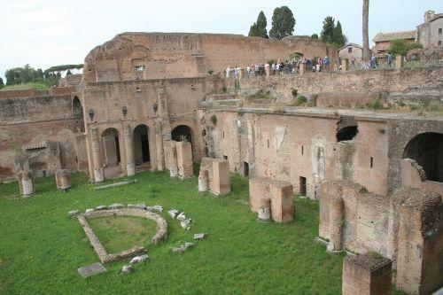 mont-palatin rome architecture