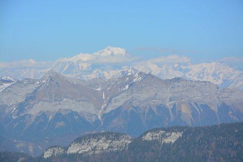 Mountain Mont Blanc