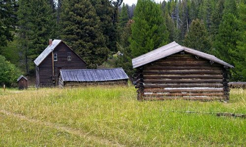 montana's garnet ghost town  abandoned  old