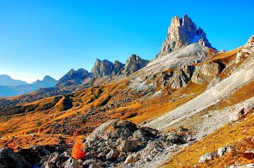 monte averau  dolomites  mountain group
