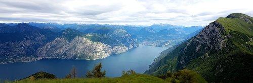 monte baldo  mountains  hike