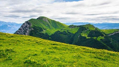 monte baldo  mountains  hiking