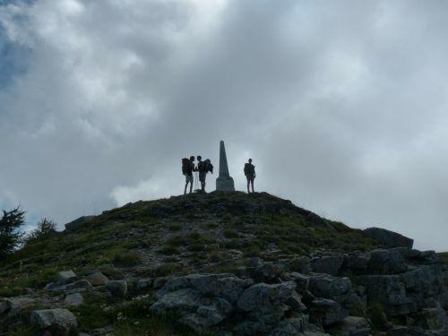 monte saccarello wanderer mountaineer