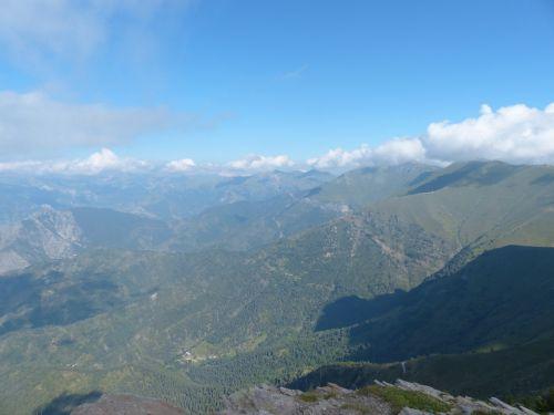 monte saccarello outlook distant view