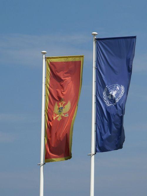 montenegro balkan flag