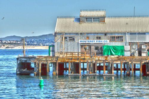 Monterey Pier Warehouse