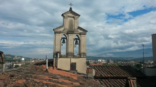 montevarchi campanile italy