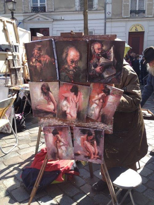 montmartre paris painter