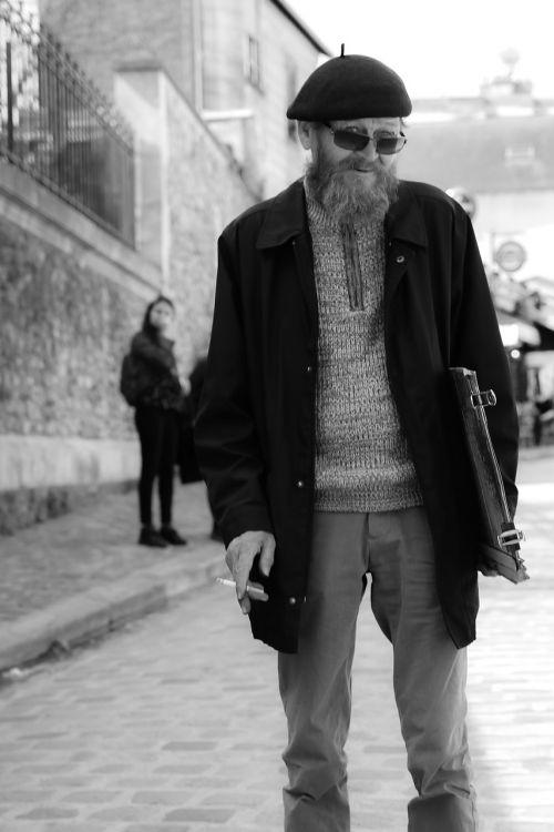 montmartre street photography artist