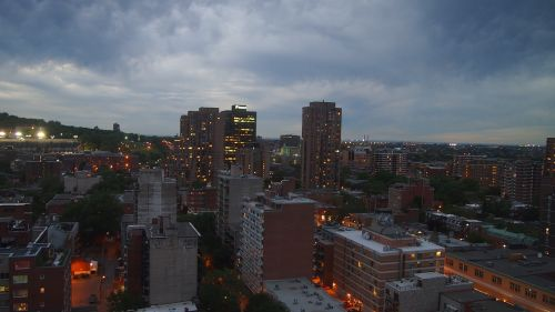 montreal night twilight