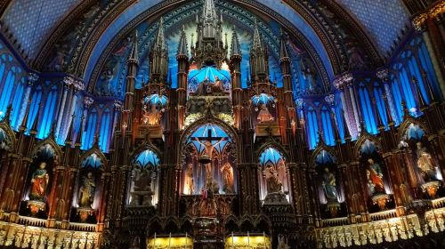 montréal basilica our lady of montreal