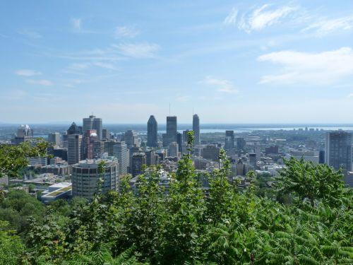 montréal urban landscape