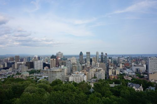montreal mont royal scenic