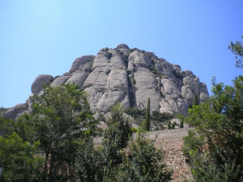 montserrat spain mountain