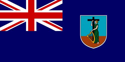 montserrat flag british overseas territory