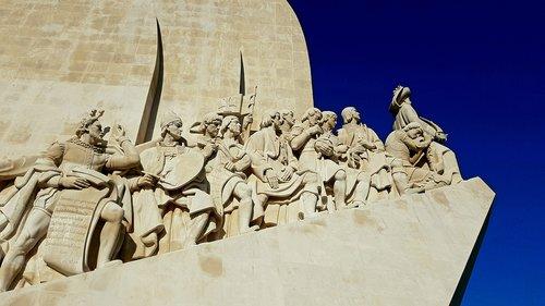 monument  lisbon  sculpture