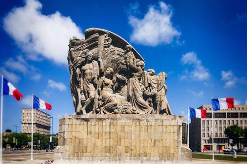 monument  le havre  liberation