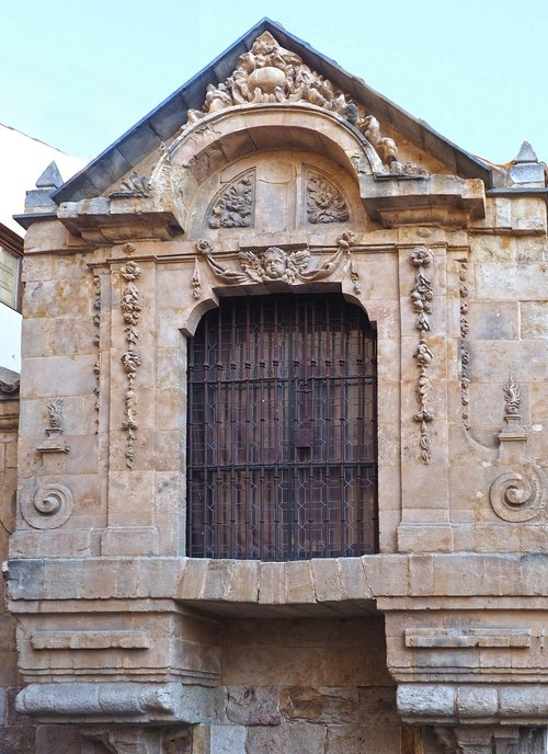 monument  stone  wooden gate