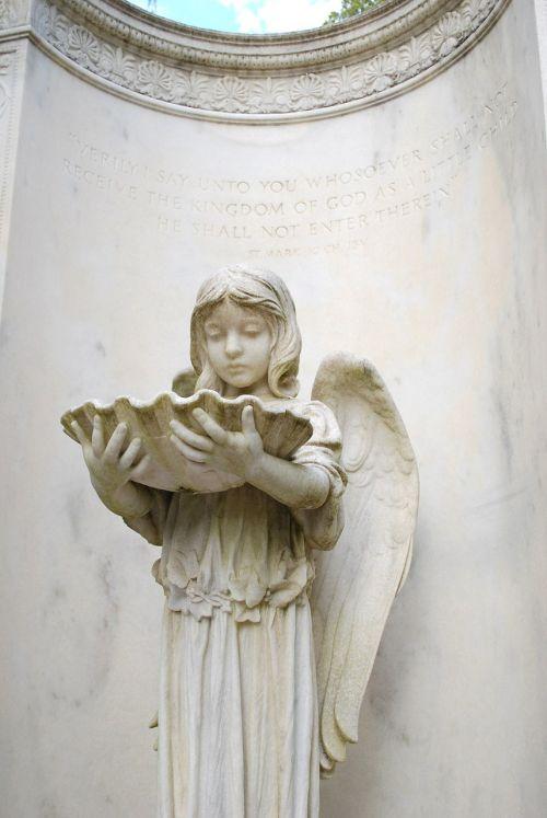 monument cemetery angel