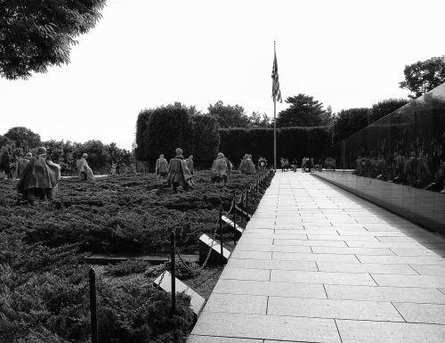 monument korean war memorial