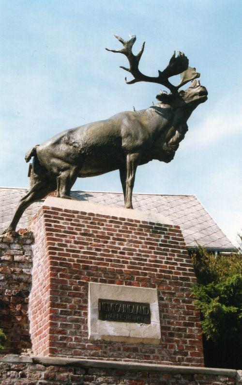 monument deer monchy-le-brave