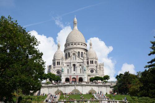 monument montmartre paris