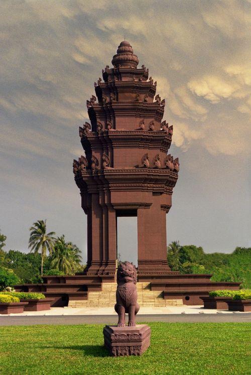 monument cambodia asia