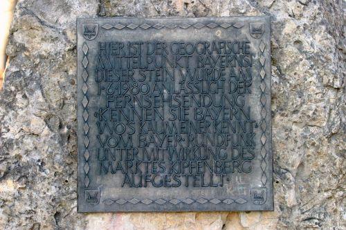 monument kipfenberg mittelbunkt bavaria