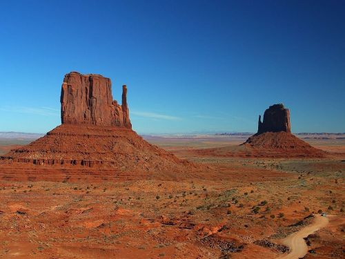 monument valley towers rocky towers