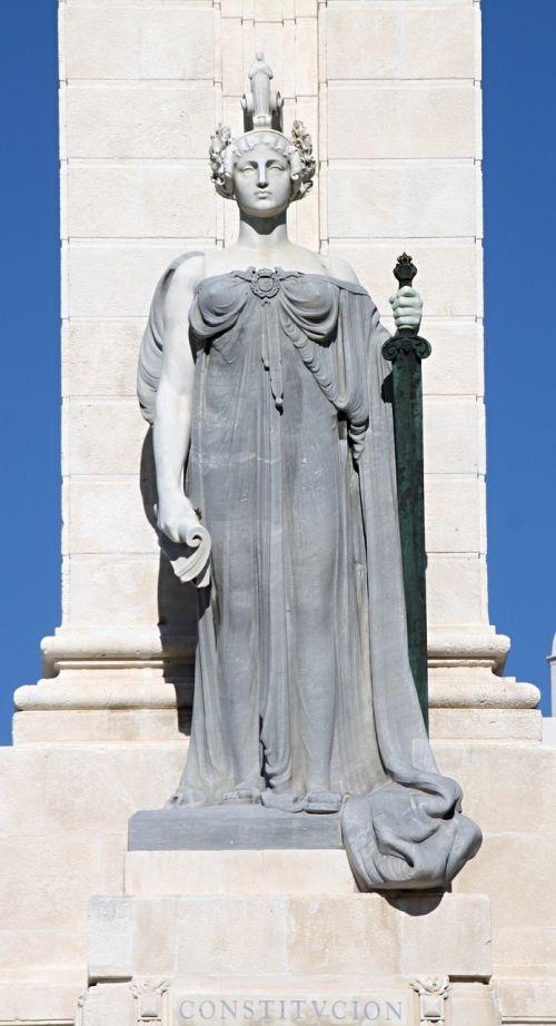 monumento cortes de cadiz cadiz