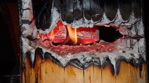 mood fire tree torch