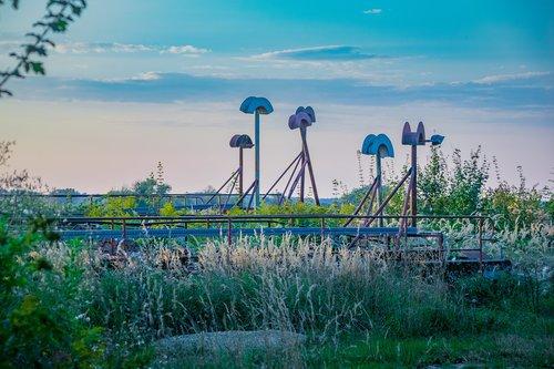 mood  industrial ruin  landscape