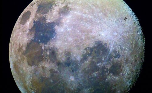moon surface space