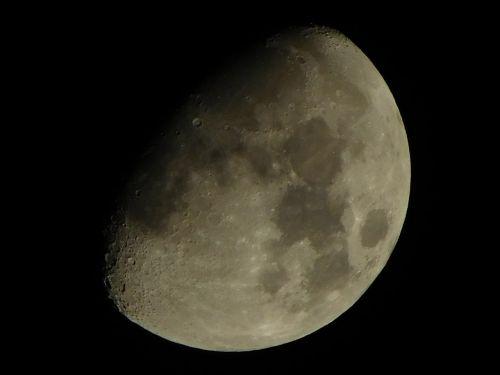 moon night space