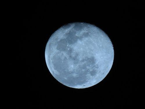 moon night dark