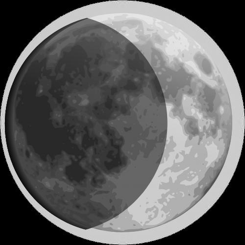 moon cosmic crescent