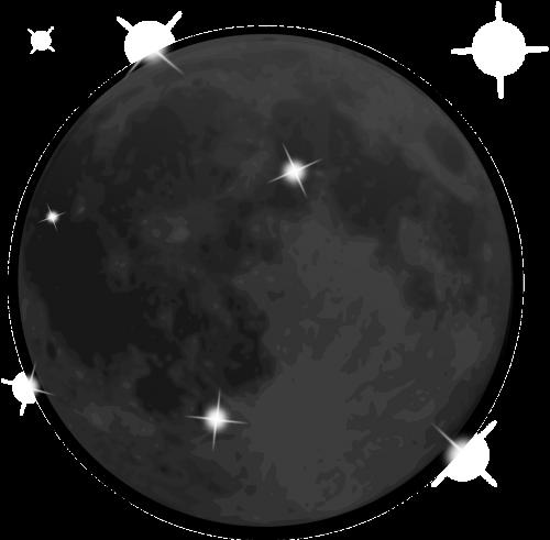 moon cosmic stars