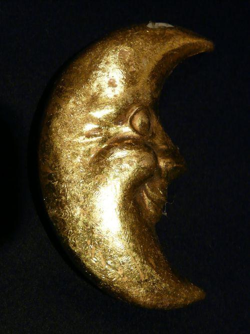 moon silver crescent