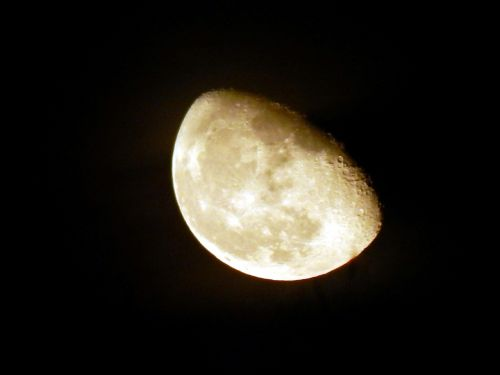 moon luna sky