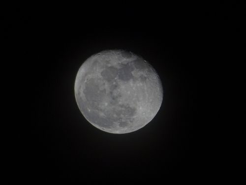 moon dark night