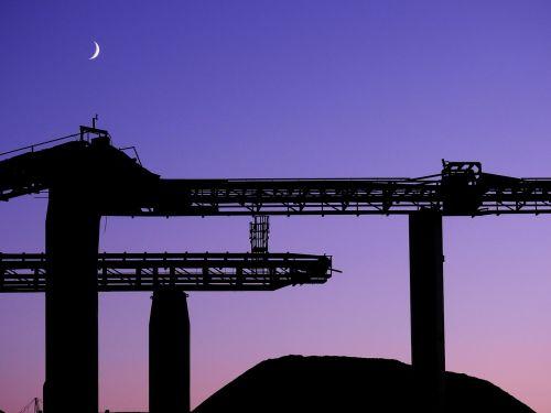 moon silhouette atmosphere