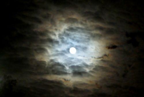moon superpełnia super full moon