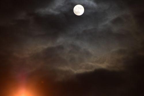 moon full moon sky