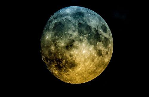 moon universe sky